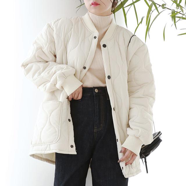 【12/1(tue)19:00〜】quilting short jacket[1009K]