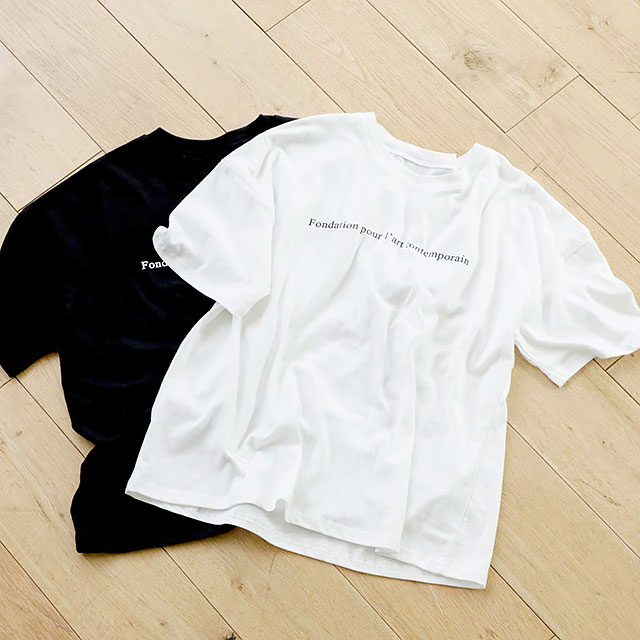 シンプルロゴT(全2色)[100C]
