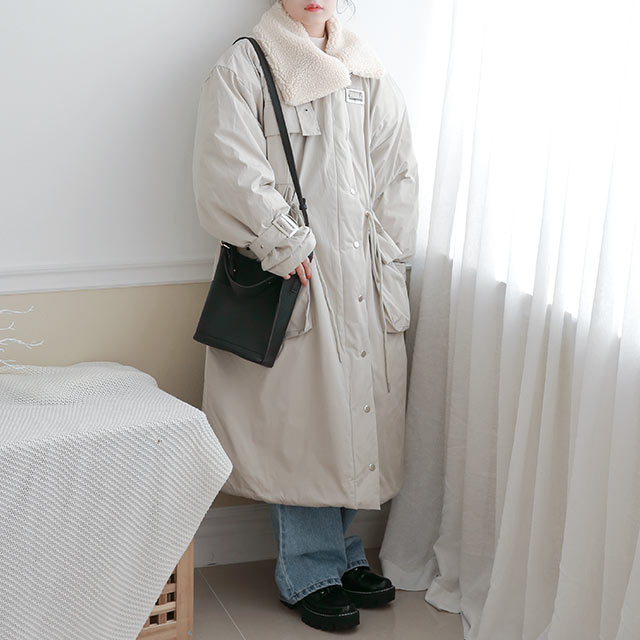 <FINAL SALE>long mods coat[1018K]