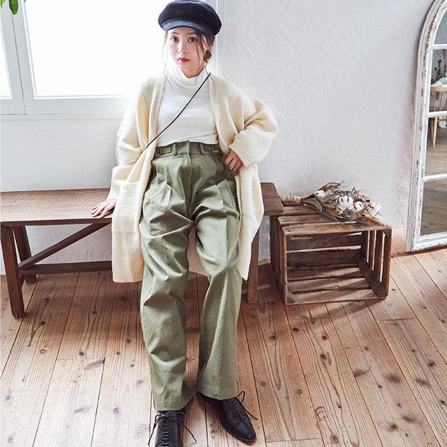 ≪トップス全品送料無料≫knit long cardigan[1020C]