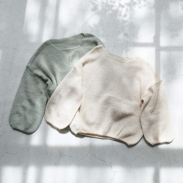 ≪WINTER SALE≫透かし編みニットトップス(全2色)[1025C]