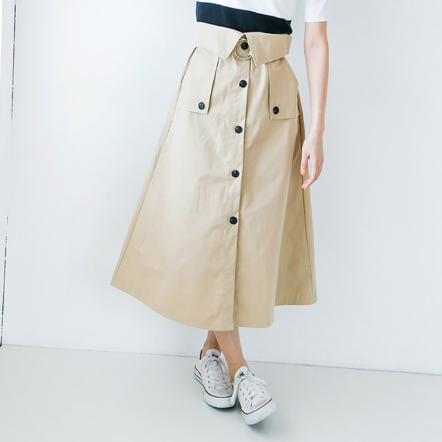 トレンチスカート(全2色) [102M]【7月下旬予約】
