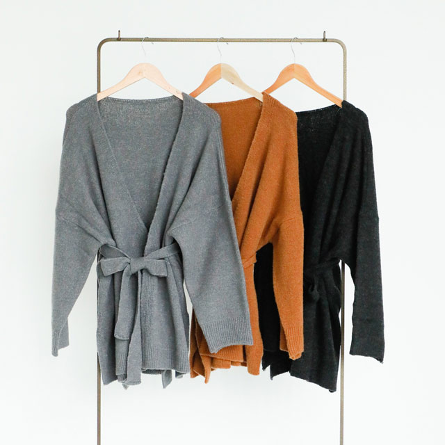 2way kashcourt knit cardigan[1093C]
