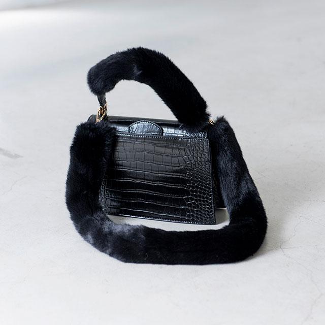 4Wayファー付きハンドバッグ(全3色)[109B]