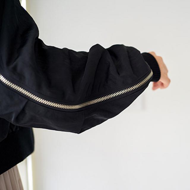 サイドジッパーMA-1ジャケット(全2色)[111K]