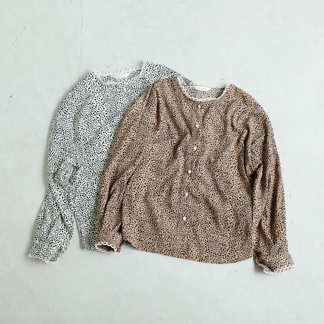 ≪村田倫子Select≫レオパード柄ブラウス(全2色)[1127C]