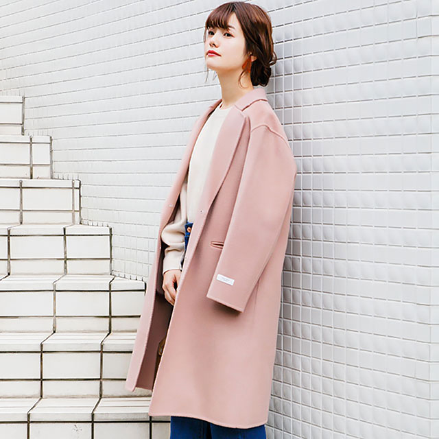 wool blend jacket coat[114K]