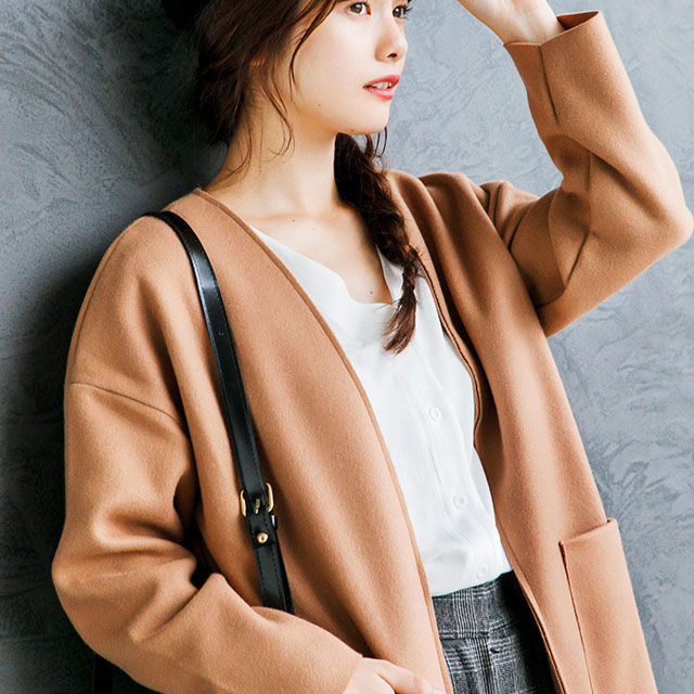 co collar out pocket coat[115K]