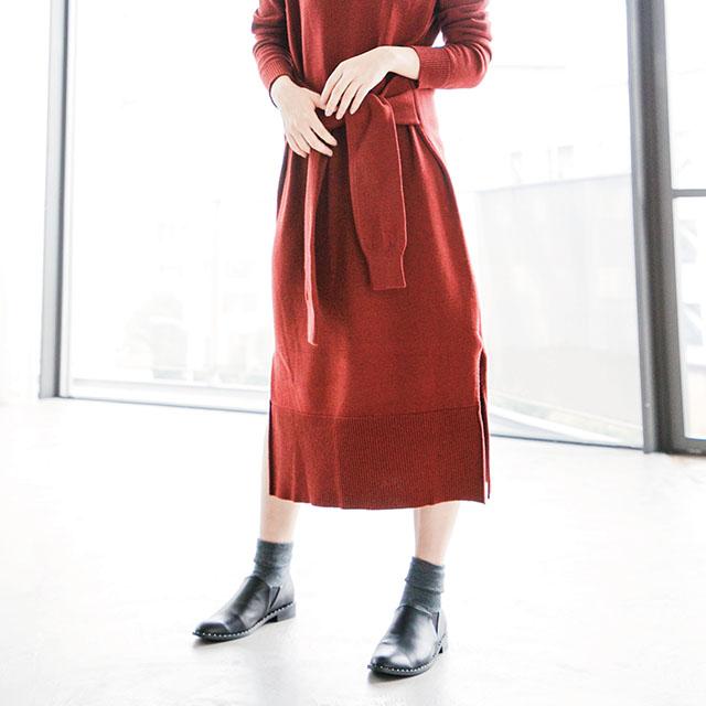 メタルラインショートブーツ(全1色)[116B]