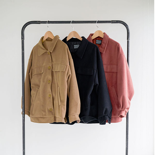 <Spring Sale>front button half coat[116K]