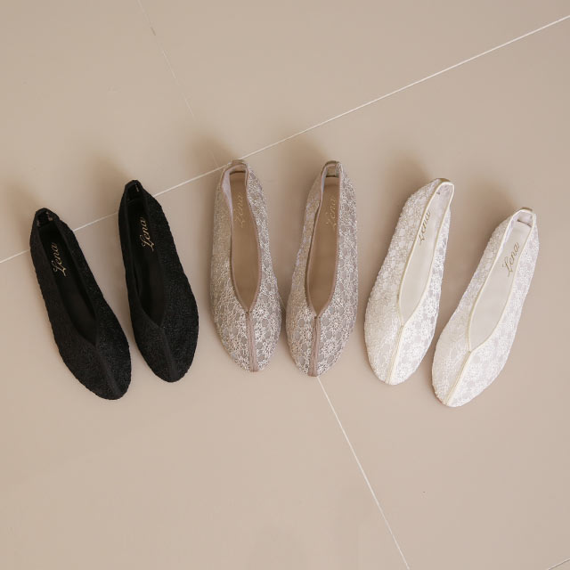 【2/23(tue)19:00〜】sheer lace pumps[1217I]