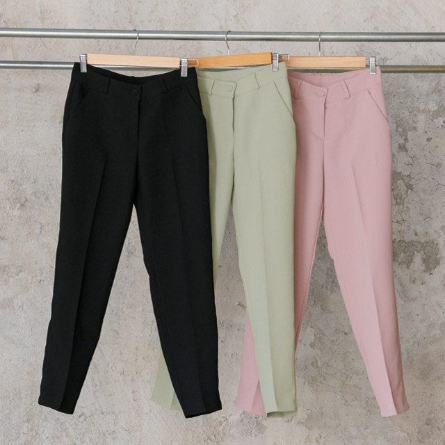 <FINAL SALE>sherbet color tapered[1245M]