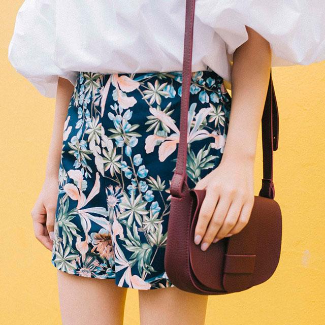 flower print shorts[138M]