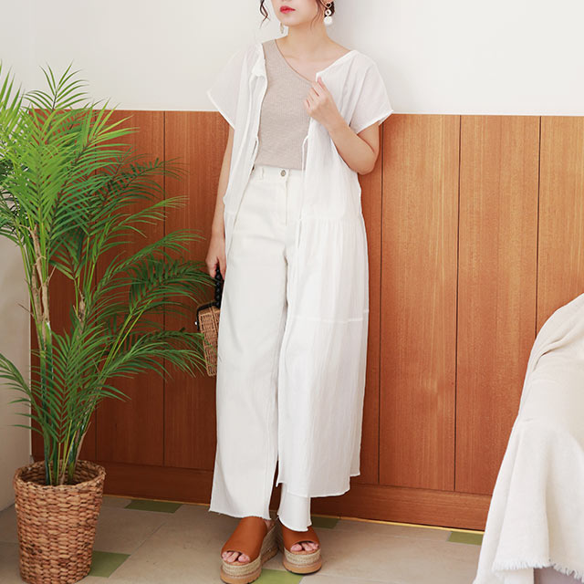 back open layered onepiece[1422E]