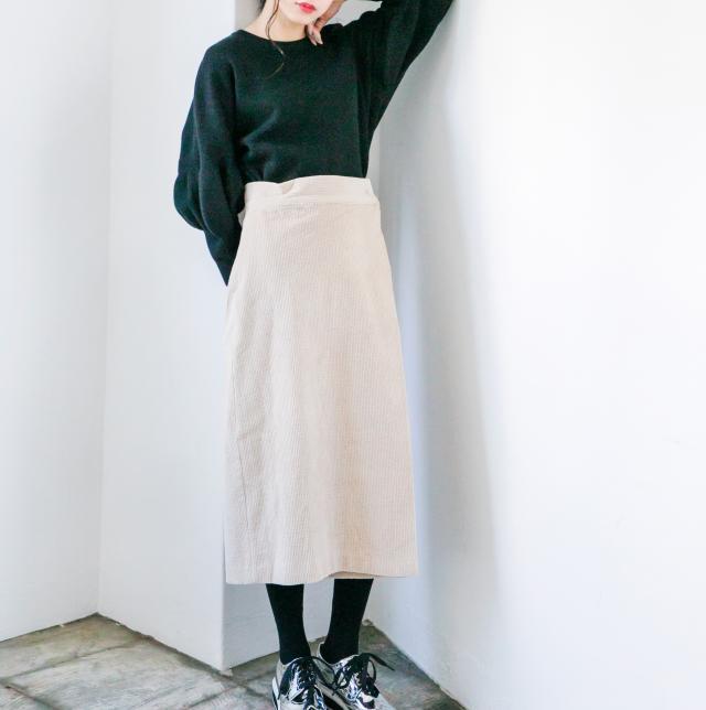 コーデュロイロングスカート(全2色)[142M]