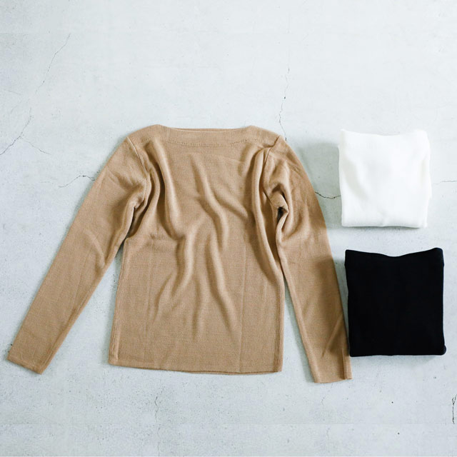 <CLEARANCE SALE>boat neck knit[1430C]