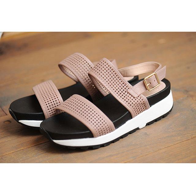 <Sale!!>double buckle sports sandals[145B]