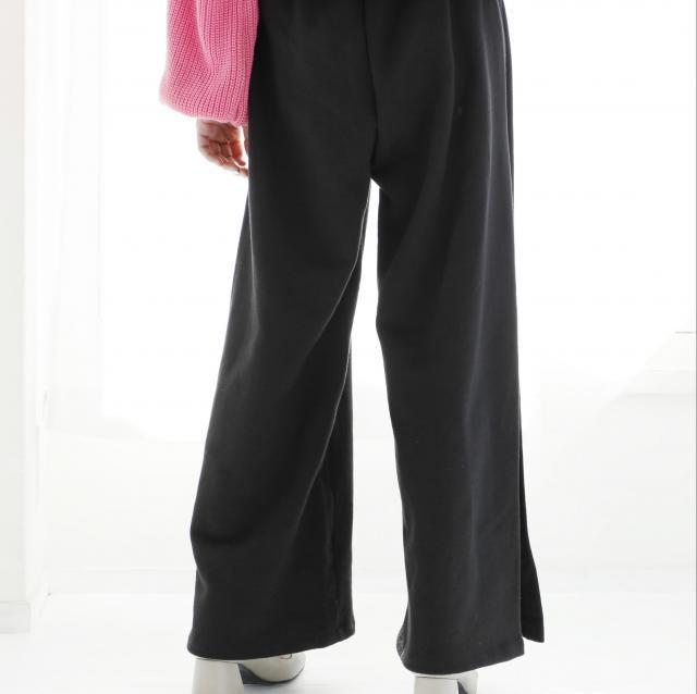 2color elastic waist sweatpants[148M]