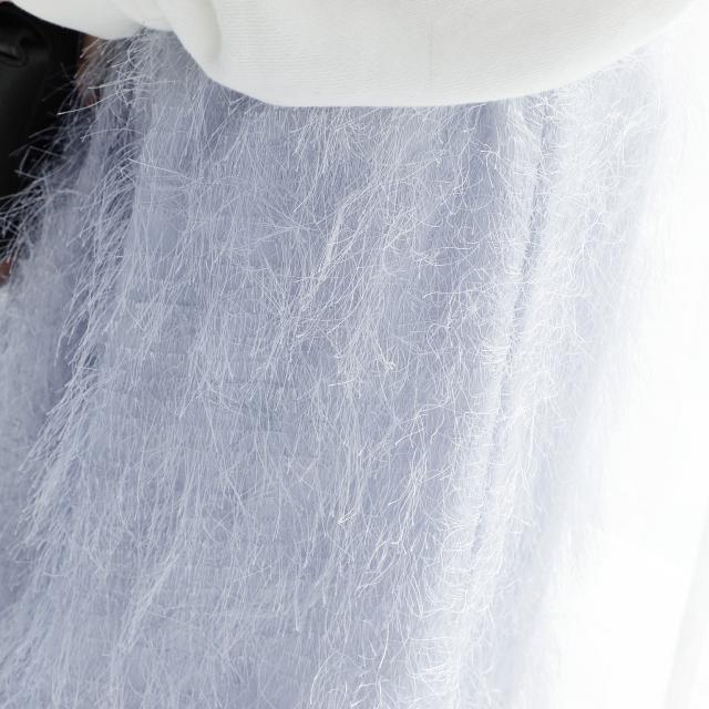 フェザーライクロングスカート(全3色)[150M]