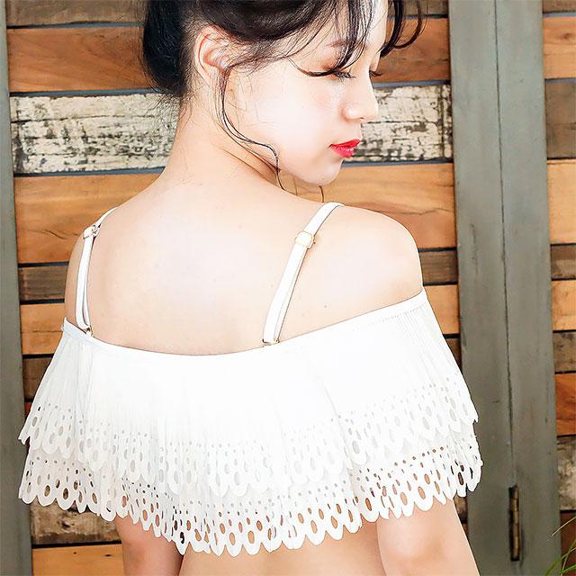 ヒートカット刺繍ビキニ(全2色)[153S]