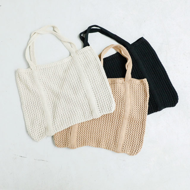 knit tote bag[162B]