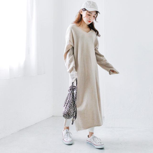 レオパード巾着バッグ(全2色)[164B]