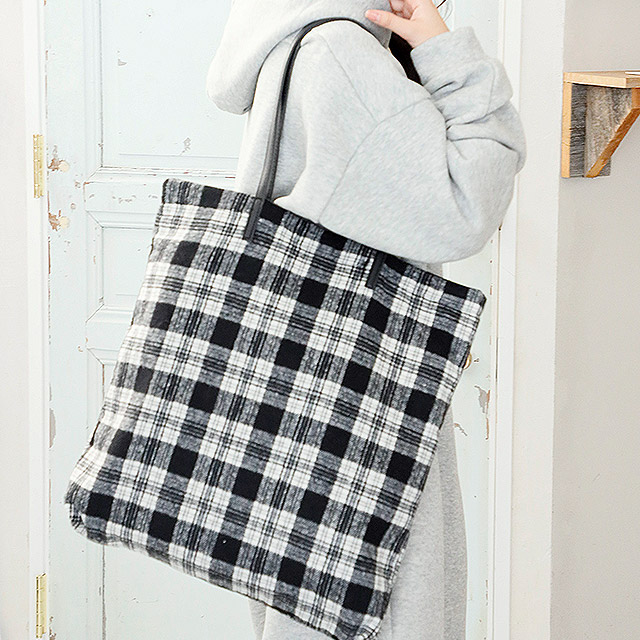 check tote bag[168B]