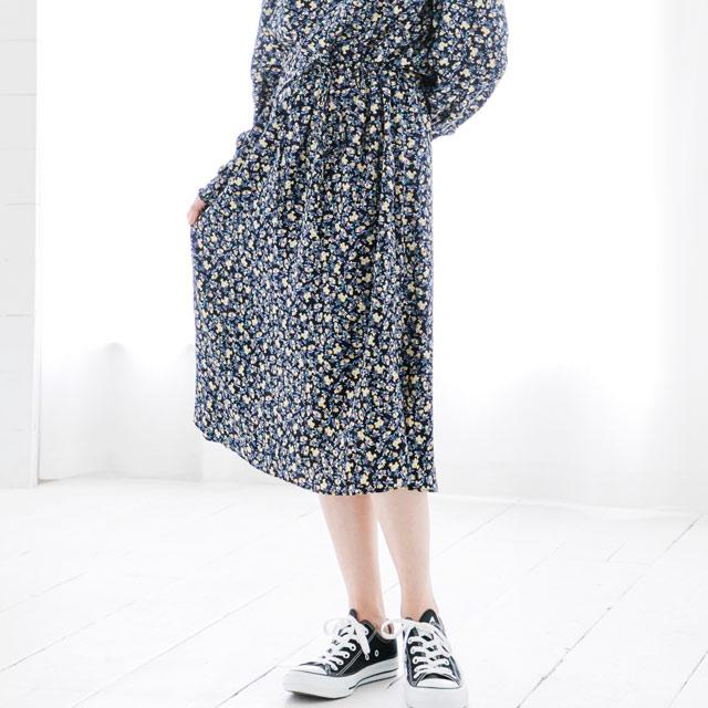 ≪WINTER SALE≫小花柄ワンピース(全2色)[171E]