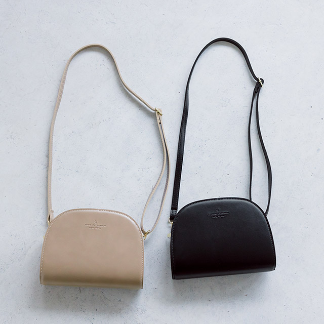 half moon shoulder bag[172B]