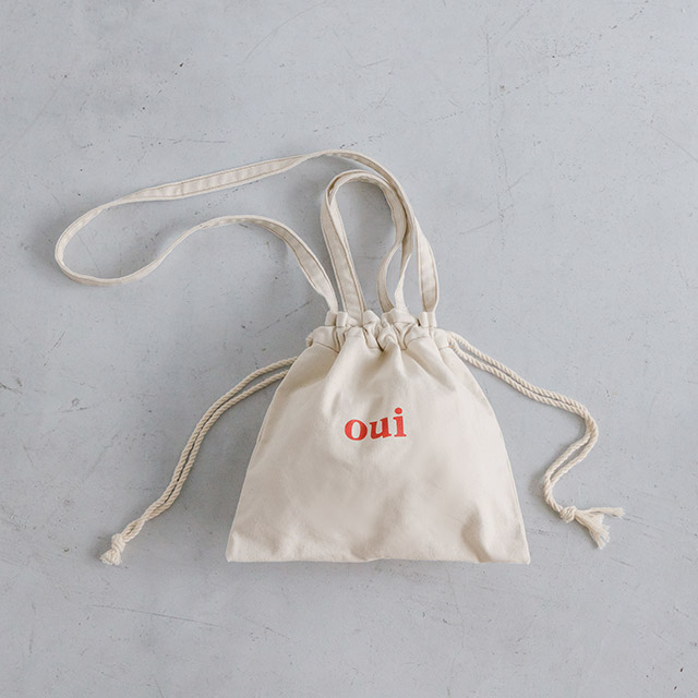 **Rinko Select**oui drawstring bag[175B]
