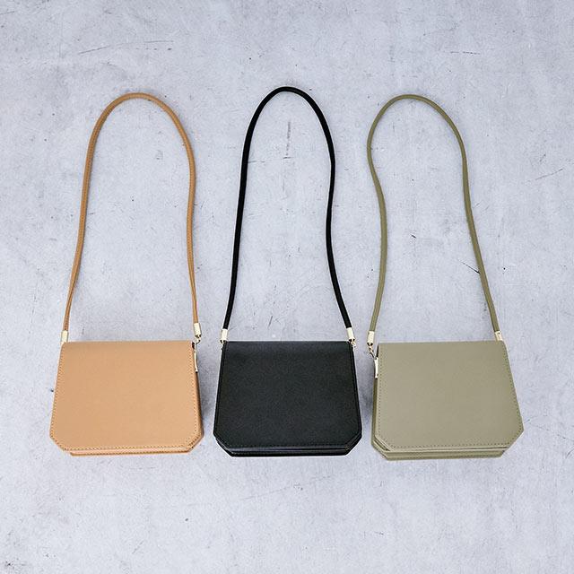 【11/24(sun)19:00**rinko select**square shoulder bag[185B]