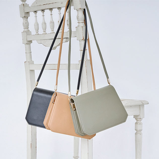**rinko select**square shoulder bag[185B]