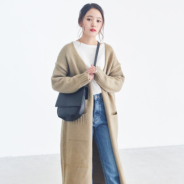 **rinko select**flap square bag[186B]