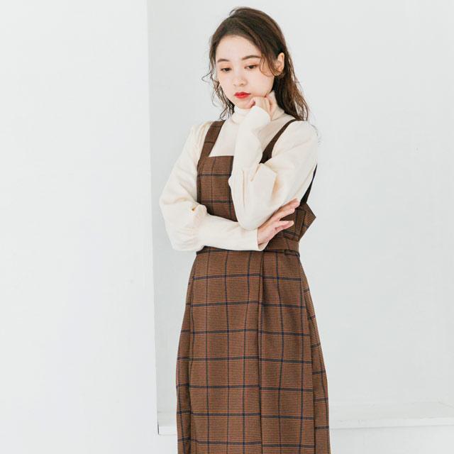 ≪村田倫子Select≫チェック柄ジャンスカ(全2色)[186E]