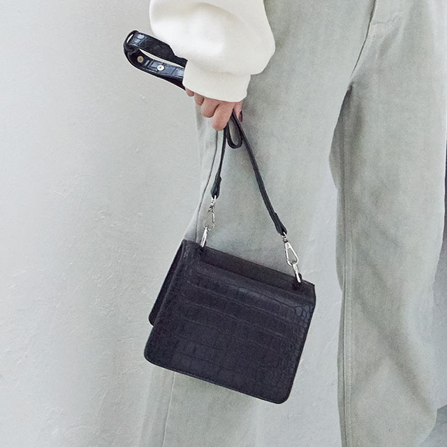 【1/15(wed)19:00〜】embossing mini bag[187B]