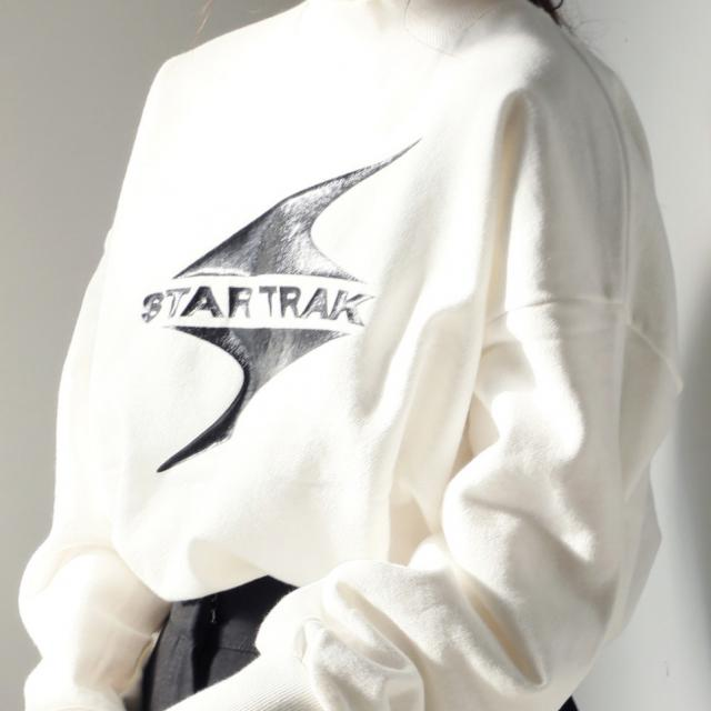 Star Truckモックネックカットソー(全1色)[193C]
