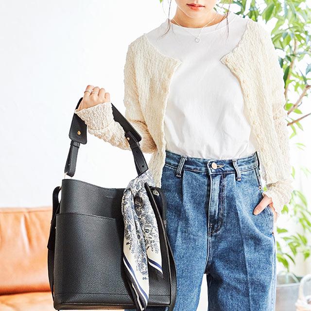 ≪店内全品ポイント7倍!!≫square shoulder bag[194B]
