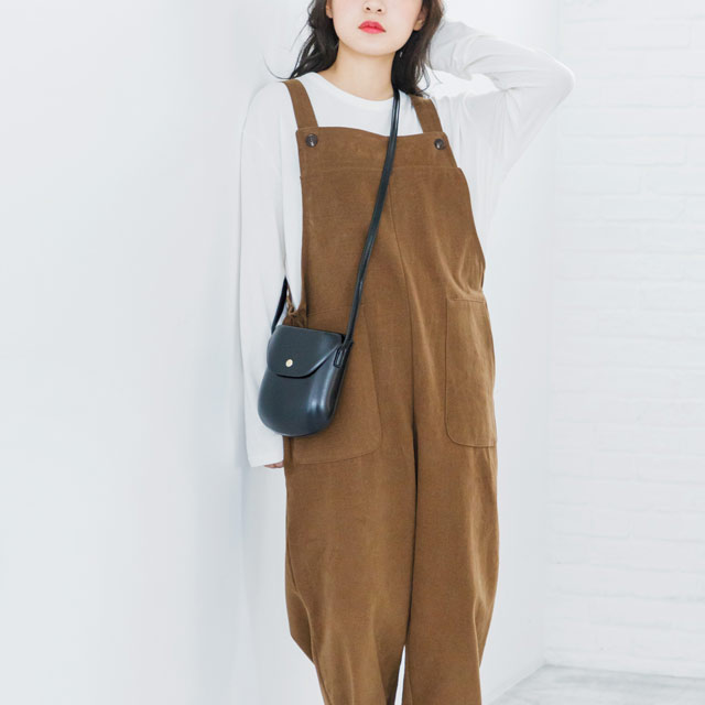 **rinko select**2 pocket salopette [195E]