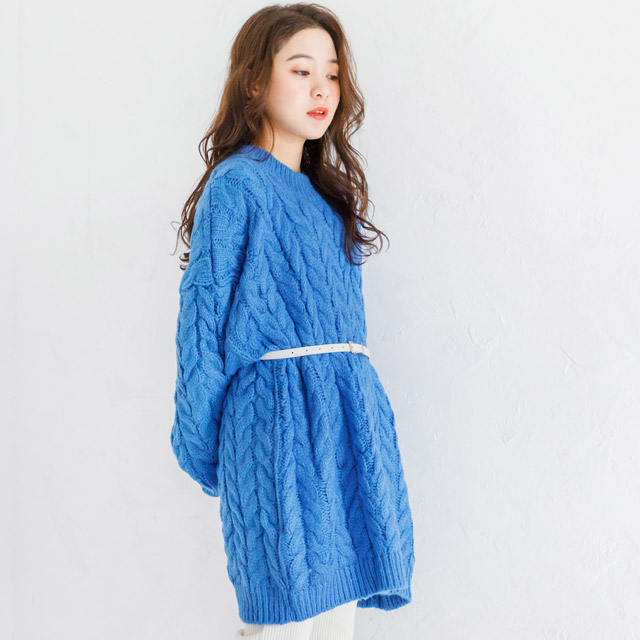 cable knit onepiece[200E]