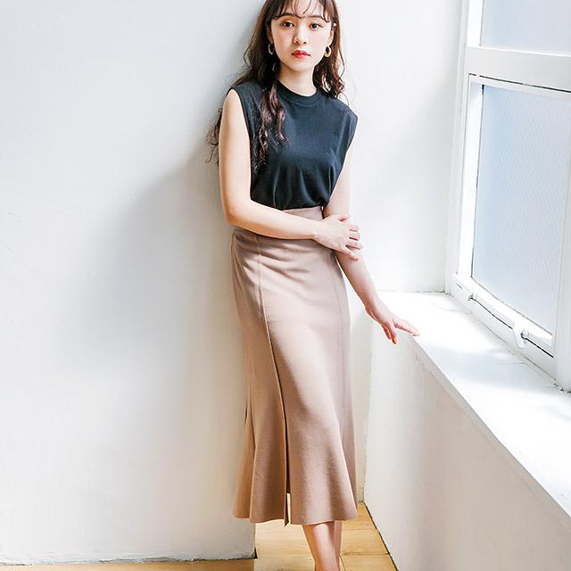 ≪WINTER SALE≫スリットスカート(全2色)[201M]
