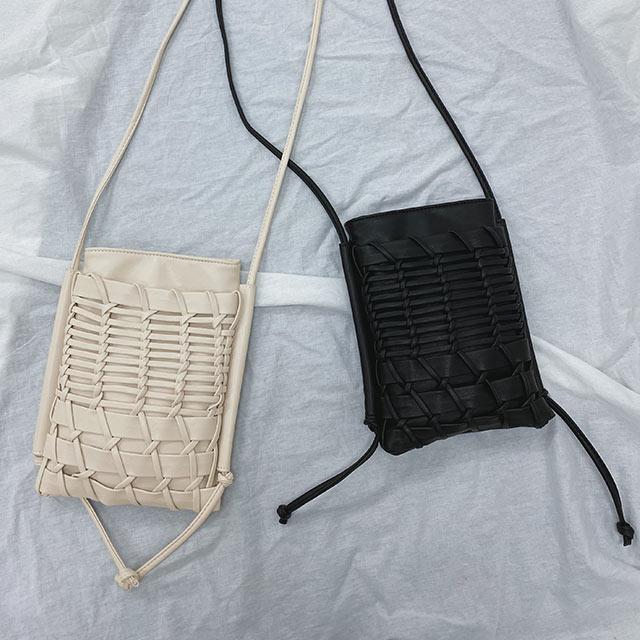 mesh square pochette[203B]