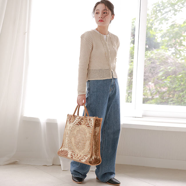 paisley tote bag[205B]