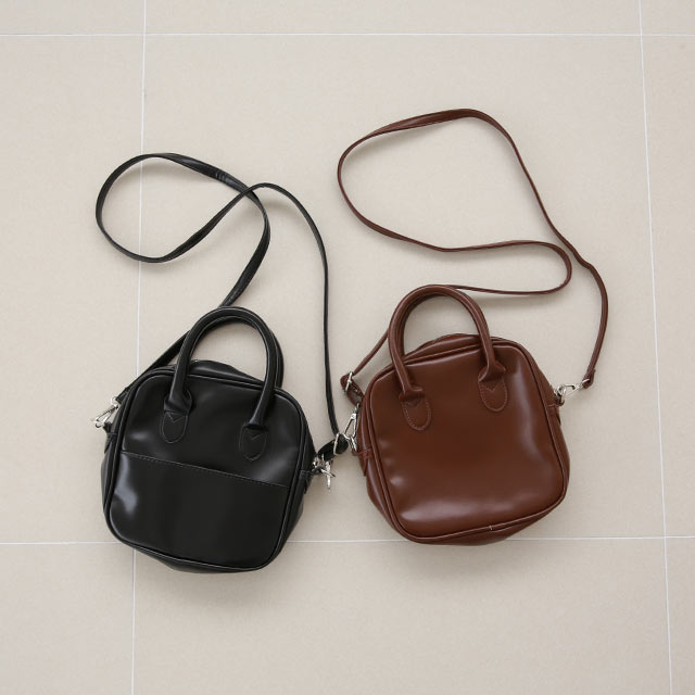 square mini shoulder bag[207B]【steady.2月号掲載】