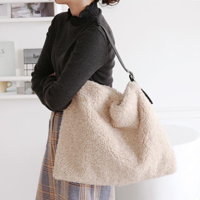 teddy like big bag[213B]