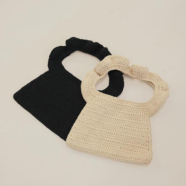 frill crochet bag[215B]