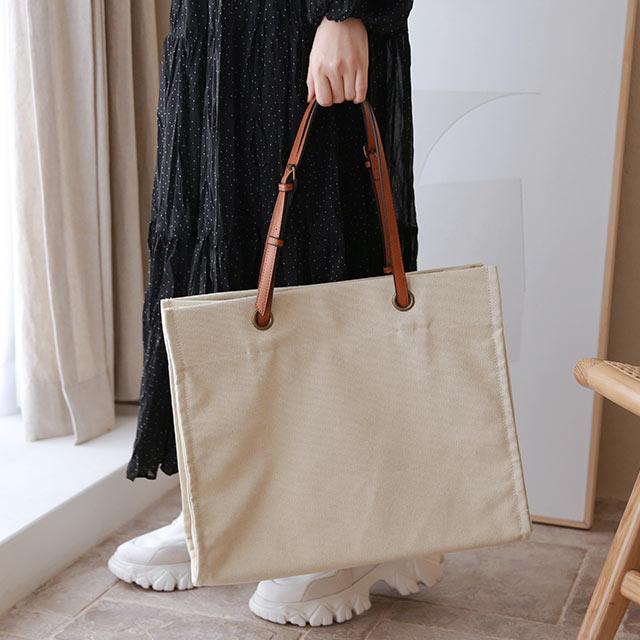 【2/18(thu)19:00〜】canvas big tote bag[220B]