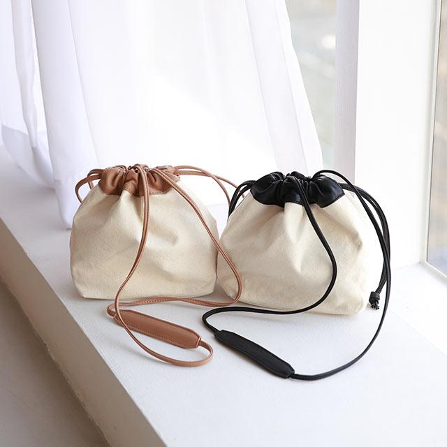 【3/2(tue)19:00〜】FL canvas combi kinchaku bag[221B]
