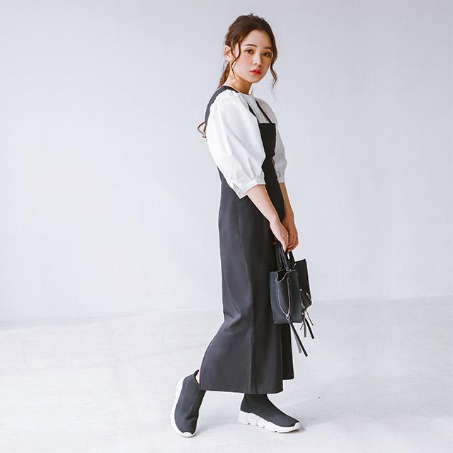 ≪FINAL SALE≫太ストラップタイトワンピース(全2色)[229E]