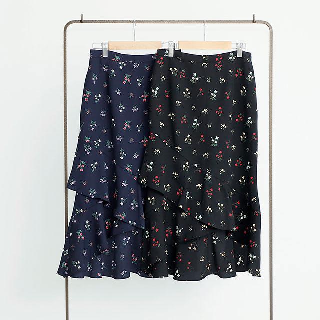 小花柄ロングスカート(全2色)[229M]