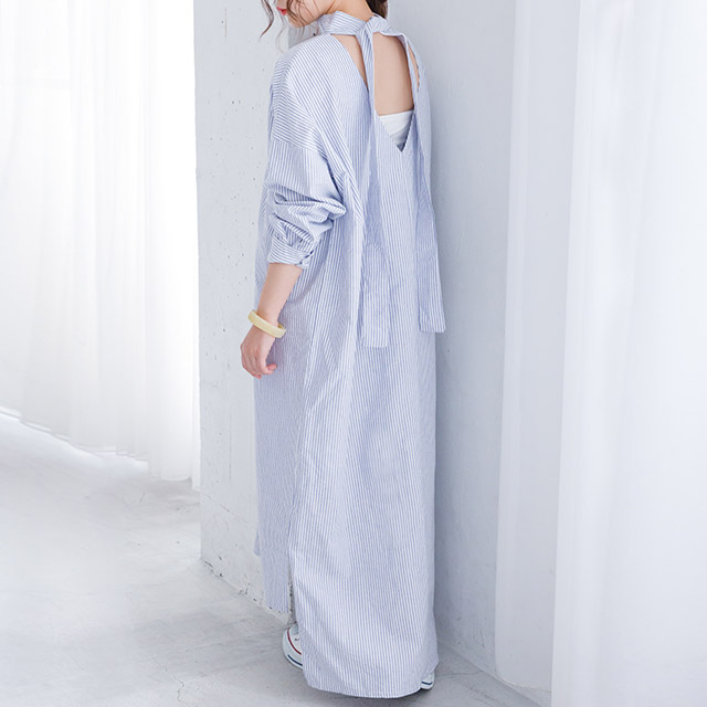 <FINAL SALE>relaxation onepiece[232E]